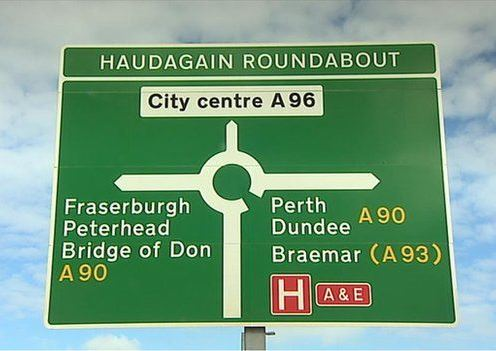 Haudagain Sign